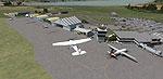 Screenshot of Invercargill Airport Scenery.
