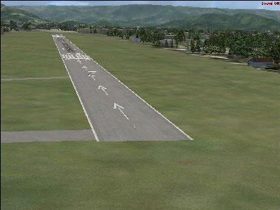 Itanhaem Airports Scenery.