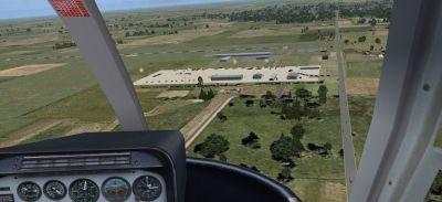 Screenshot of Jasper County Airport Scenery.