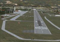 Khatmandu Tribhuvan Airport Scenery.
