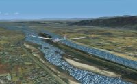 Kisogawa Glider Port Japan Real Scenery.
