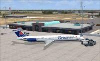 Konya Airport (LTAN) Scenery.