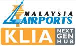 Kuala Lumpur International Airport Scenery.