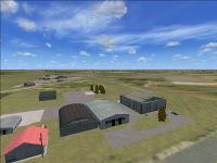 Screenshot of Lane Airpark T54 Scenery.