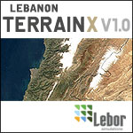Lebanon TerrainX Scenery.