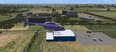 Screenshot of Lewis University Scenery.