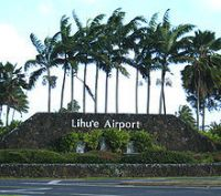 Poster for Lihue Airport (PHLI) Scenery.