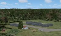Louis Trichardt Airfield Scenery.
