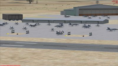 Screenshot of Jets on the ground at MCAS Beaufort KNBC.