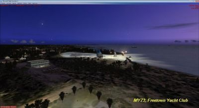 Screenshot of MYZ2 Scenery.