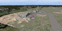Day time screenshot of Mac Crenshaw Memorial Airport scenery.