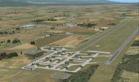 Screenshot of Makhado AFB Scenery.