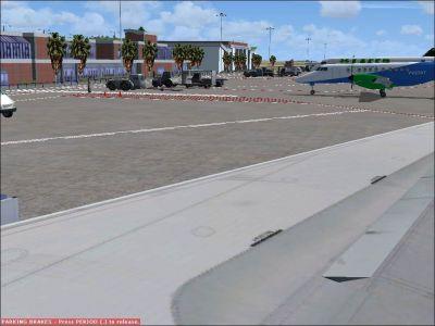 Margarita Airport Scenery.