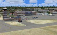 Screenshot of Maun International Airport.