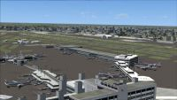 Screenshot of Miami International Airport Scenery.