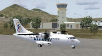 Milos Airport Scenery.
