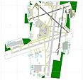 Overview of Milwaukee Gen Mitchell International Airport Scenery.