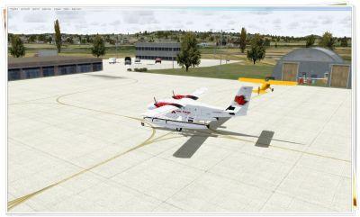 Mont-Joli Airport Scenery.