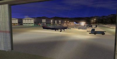 Screenshot of Morgan County Airport Scenery.