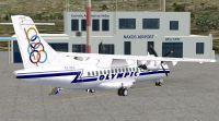 Naxos Airport Scenery.
