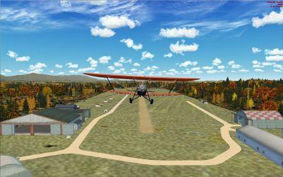 Old Rhinebeck Aerodrome Scenery.