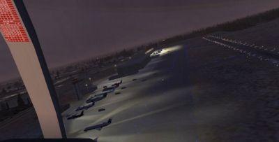 Screenshot of Oxnard Airport Scenery.