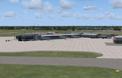 Pensacola Regional Airport Scenery.