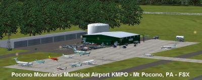 Screenshot of Pocono Mountains Municipal Scenery.