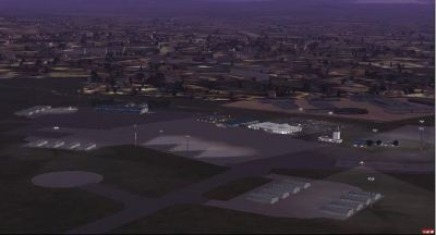Polokwane International Airport Scenery.