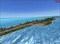 Private Island Scenery.