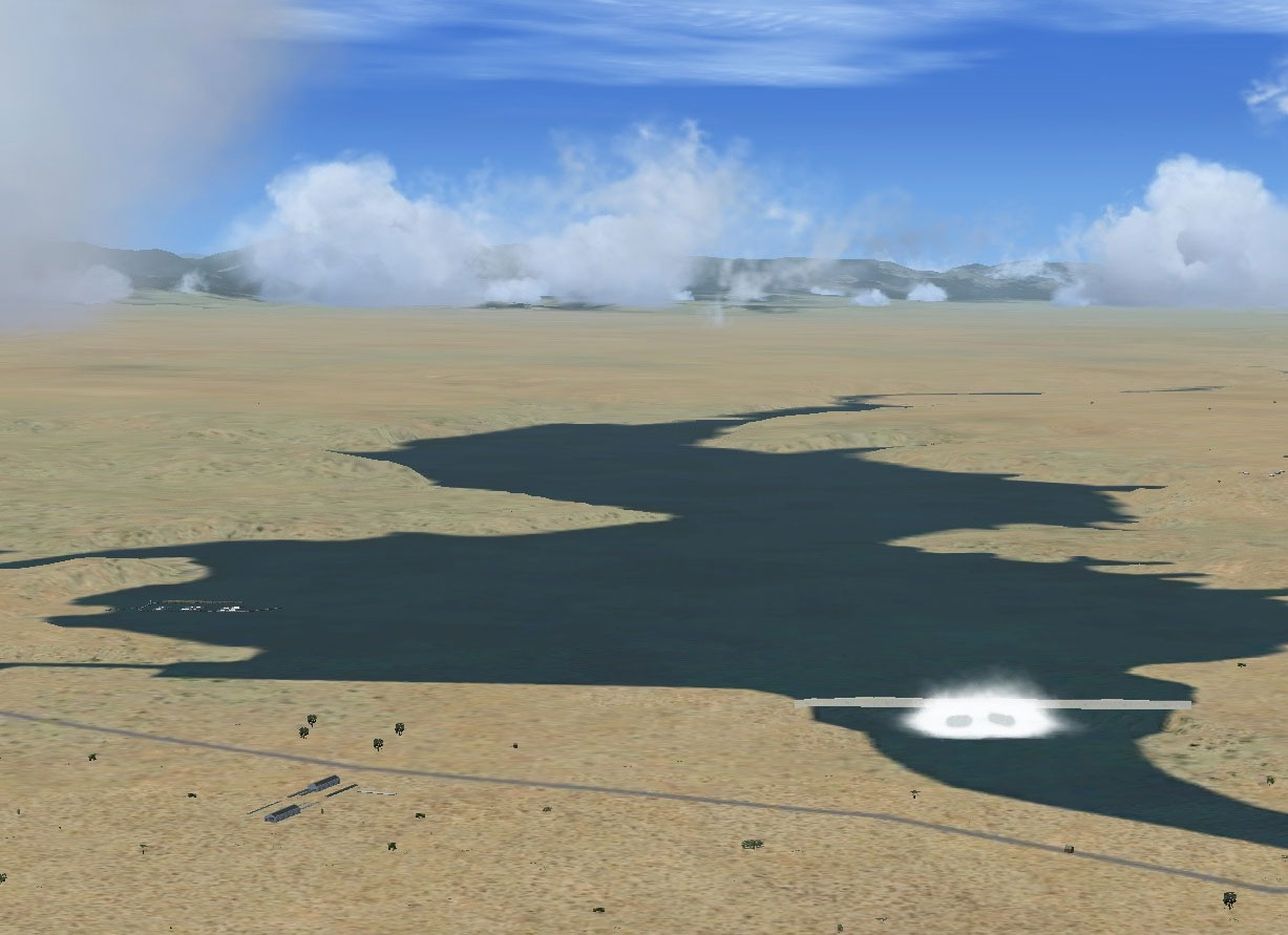 pueblo reservoir scenery for fsx