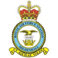 RAF Mildenhall Logo.