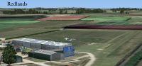 Screenshot of Redlands Airfield Scenery.