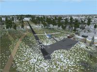 Screenshot of Richmond Airport scenery.