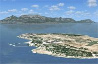 Robben Island Scenery.