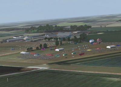 Rougham Airfield Scenery.