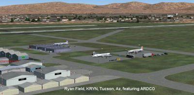 Screenshot of Ryan Field, Tucson, AZ.
