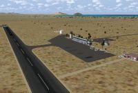 Screenshot of San Felipe Airport Scenery.