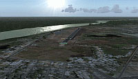 Screenshot of San Fernando Airport Scenery.