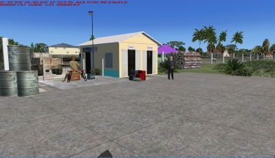 Scenery Of Barbuda.