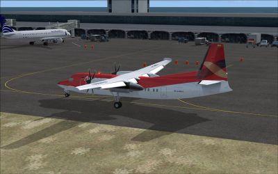 Simon Bolivar Airport Scenery.