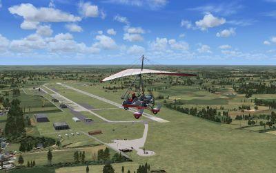 Smolensk North Airport Scenery.