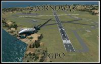 Stornoway Airport Scenery.