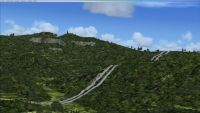 Screenshot of Swiss Highway Tunnels Scenery (Before).