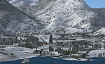 Screenshot of Switzerland Alps Scenery.