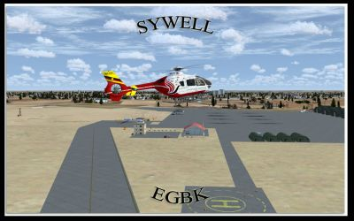 Screenshot of Sywell Aerodrome Scenery.