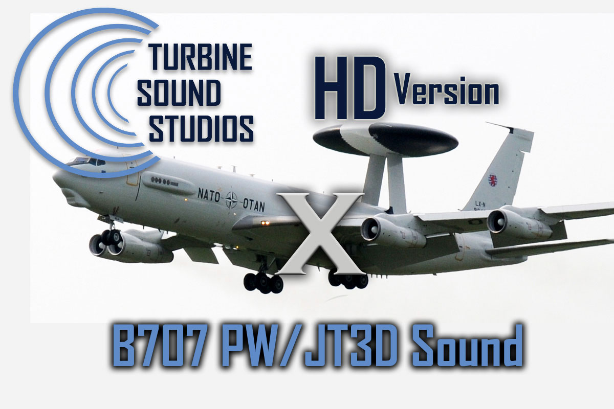 TSS Boeing 707 PW JT3D HD Sound Pack Released
