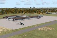 Tallahassee Regional Airport Scenery.