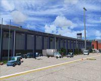 Screenshot of Trabzon Airport Scenery.