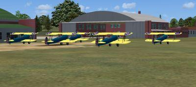 Screenshot of Tuskegee Training Airfields Scenery.